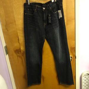 Lucky Brand denim straight leg jeans W36 L32 NWT